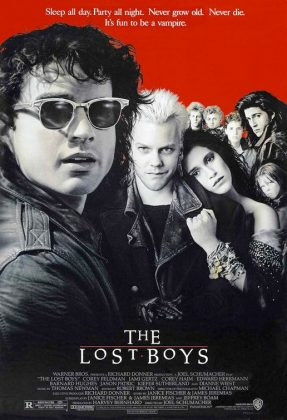 lostboys poster 287x420 - Tributo de Ready Player One a Películas Clásicas en Pósters