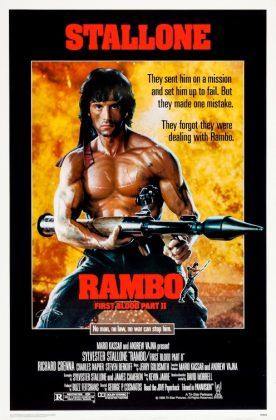 rambo firstblood2 poster 276x420 - Tributo de Ready Player One a Películas Clásicas en Pósters