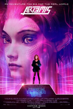 ready player one movie poster artemis 283x420 - Pósters con los Personajes de Ready Player One