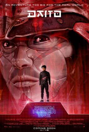 ready player one movie poster daito 283x420 - Pósters con los Personajes de Ready Player One