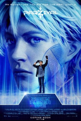 ready player one movie poster parzival 283x420 - Pósters con los Personajes de Ready Player One