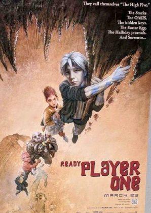 readyplayerone tributeposter goonies 298x420 - Tributo de Ready Player One a Películas Clásicas en Pósters