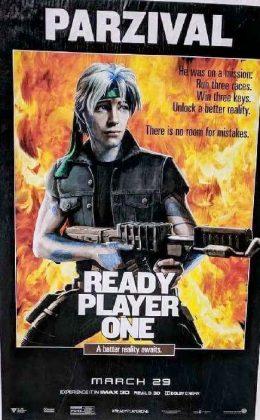 readyplayerone tributeposter rambo2 260x420 - Tributo de Ready Player One a Películas Clásicas en Pósters