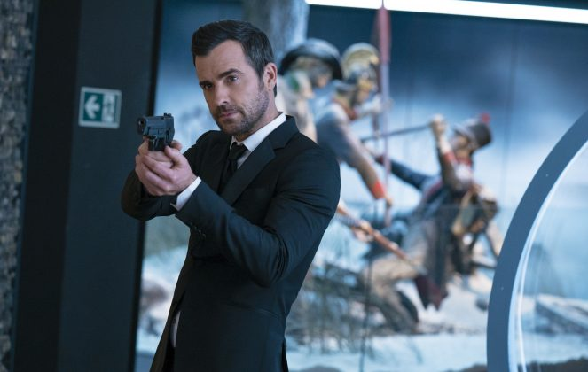 the spy who dumped me justin theroux 663x420 - Mira el Trailer de The Spy Who Dumped Me con Kate McKinnon y Mila Kunnis