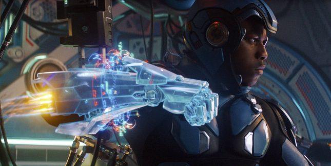 titanes del pacifico 2 jaegers boyega 645x323 - Titanes del Pacífico: La Insurrección - La Reseña Cinergetica