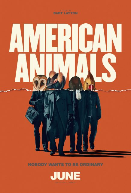 american animals poster 436x645 - Trailer de American Animals con Evan Peters