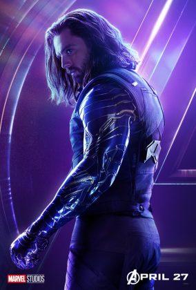 avengers infinity war poster bucky sebastian stan 284x420 - Todos los Personajes de Avengers: Infinity War