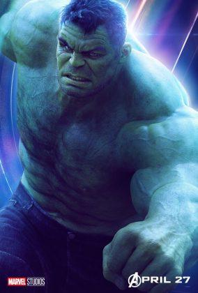 avengers infinity war poster mark ruffalo hulk 284x420 - Todos los Personajes de Avengers: Infinity War