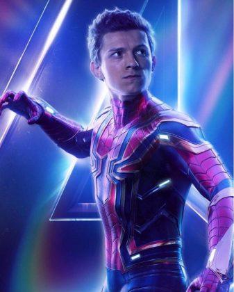 avengers infinity war poster spider man tom holland 337x420 - Todos los Personajes de Avengers: Infinity War