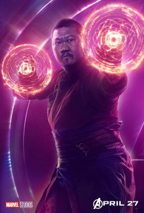 avengers infinity war poster wong benedict wong 284x420 - Todos los Personajes de Avengers: Infinity War