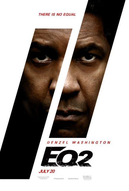 equalizer 2 denzel washington poster 435x645 - Primer Trailer Oficial de El Justiciero 2