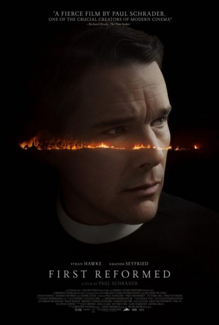 first reformed poster 436x645 - Trailer de First Reformed con Ethan Hawke