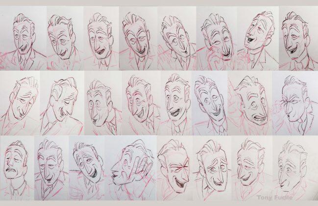 incredibles 2 deavor model sheet 649x420 - Galería de Imágenes Conceptuales de Los Increíbles 2
