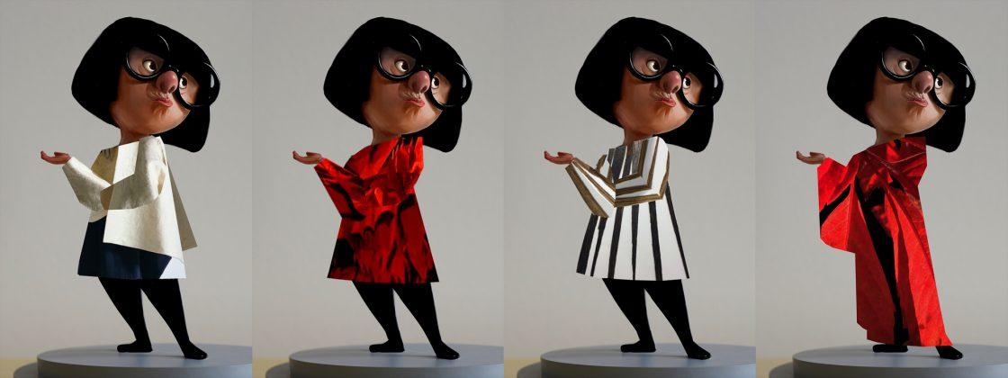 incredibles 2 edna costume design 1120x420 - Galería de Imágenes Conceptuales de Los Increíbles 2
