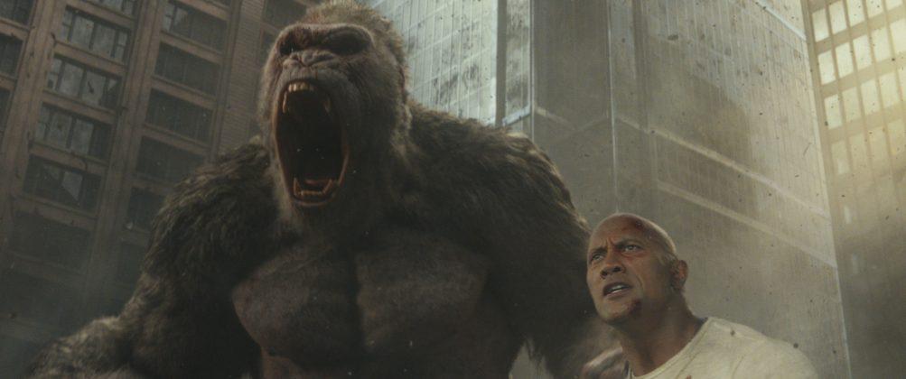 rampage gorilla 1003x420 - Galería de Imágenes de Rampage: Devastación con las Bestias