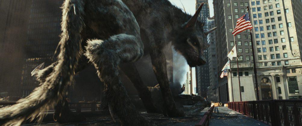 rampage movie image wolf 1002x420 - Galería de Imágenes de Rampage: Devastación con las Bestias