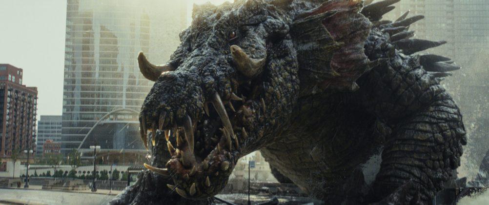 rampage movie image wolf 2 1002x420 - Galería de Imágenes de Rampage: Devastación con las Bestias