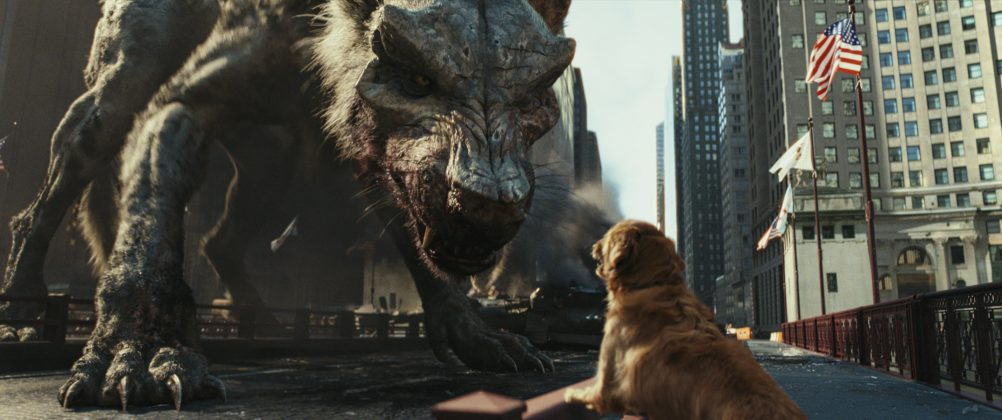 rampage movie wolf 1002x420 - Galería de Imágenes de Rampage: Devastación con las Bestias