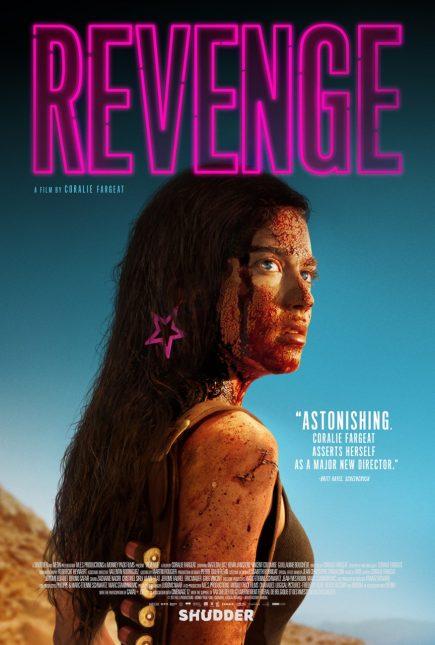 revenge poster 435x645 - Trailer Sangriento de Revenge con Matilda Lutz