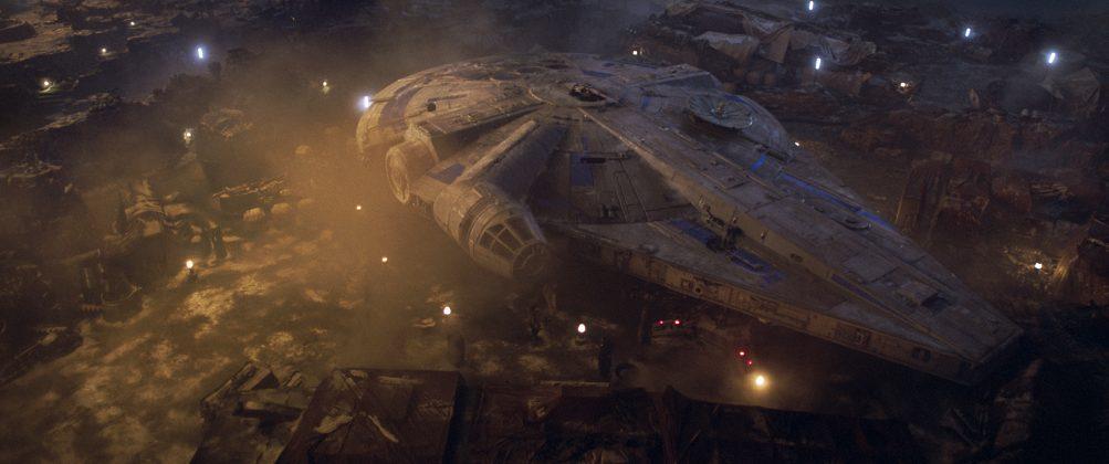 solo a star wars story millennium falcon 1003x420 - Nuevo Trailer de Solo: Una Historia de Star Wars