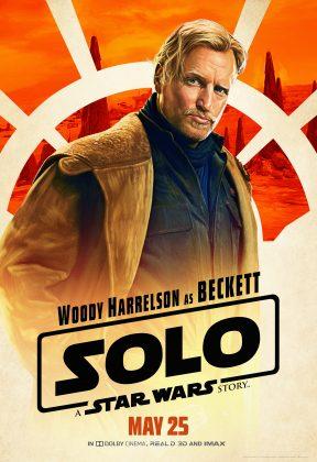 solo poster beckett 288x420 - Pósters con los Personajes de Solo: Una Historia de Star Wars