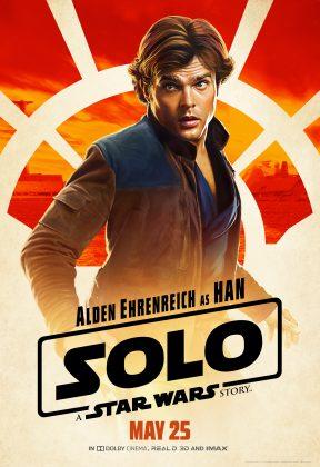solo poster han 288x420 - Pósters con los Personajes de Solo: Una Historia de Star Wars