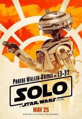 solo poster l337 288x420 - Pósters con los Personajes de Solo: Una Historia de Star Wars