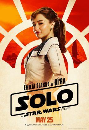 solo poster qira 288x420 - Pósters con los Personajes de Solo: Una Historia de Star Wars