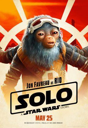 solo poster rio 288x420 - Pósters con los Personajes de Solo: Una Historia de Star Wars