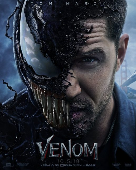 venom poster 516x645 - Trailer Completo de Venom: We Are Venom!