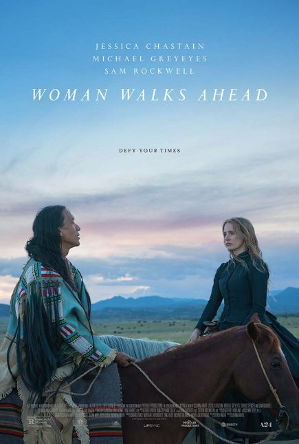 woman walks ahead poster 435x645 - Trailer de Woman Walks Ahead con Jessica Chastain