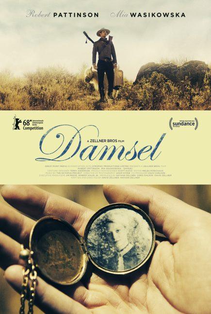 damsel poster 435x645 - Trailer de Damsel con Robert Pattinson
