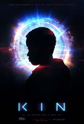kin movie poster 284x420 - Trailer de Kin del productor de Stranger Things