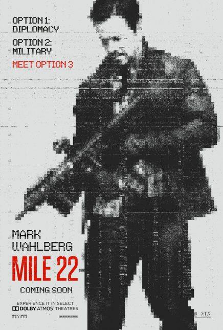 mile 22 poster 436x645 - Trailer de Mile 22 con Mark Wahlberg
