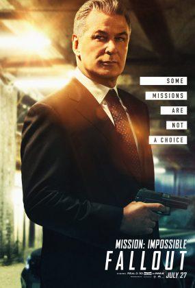 mission impossible fallout poster alec baldwin 285x420 - Los Personajes de Misión: Imposible - Repercusión
