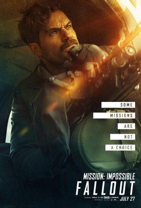 mission impossible fallout poster henry cavill 285x420 - Los Personajes de Misión: Imposible - Repercusión