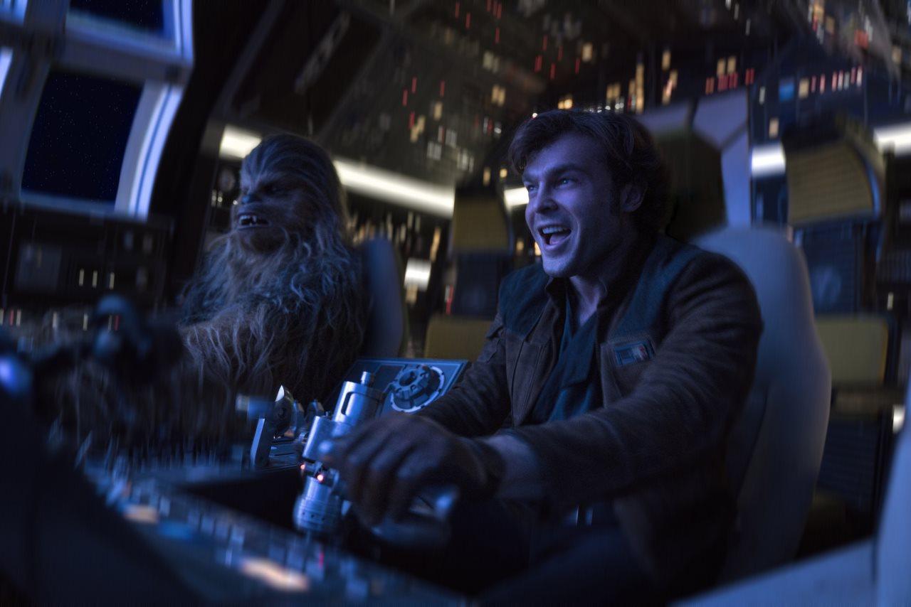 solo alden ehrenreich historia star wars chewie - Las 10 Mejores Películas de 2018... Según Dave