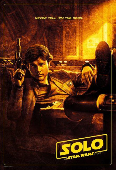 solo poster odds 442x645 - Nuevos clips y póster de Solo: Una Historia de Star Wars