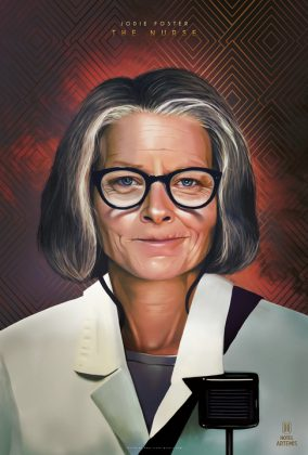 1 Jodie Foster The Nurse 284x420 - Nuevo trailer y personajes de Hotel Artemis
