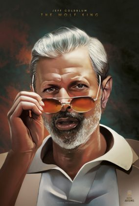 3 Jeff Goldblum The Wolf King 284x420 - Nuevo trailer y personajes de Hotel Artemis