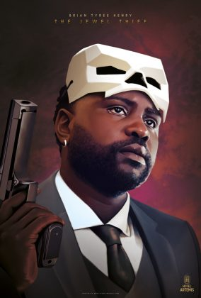 8 Brian Tyree Henry The Jewel Thief 284x420 - Nuevo trailer y personajes de Hotel Artemis