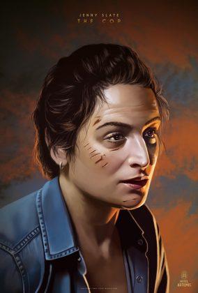 9 Jenny Slate The Cop 284x420 - Nuevo trailer y personajes de Hotel Artemis