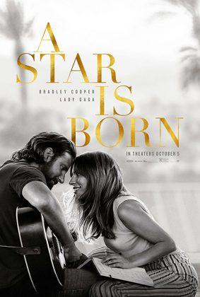 a star is born poster 283x420 - Trailer de Nace Una Estrella con Bradley Cooper y Lady Gaga