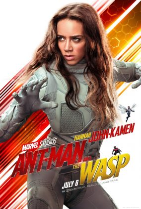 ant man and the wasp poster ghost hannah john kamen 284x420 - Los Personajes de Ant-Man and the Wasp