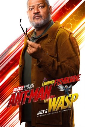 ant man and the wasp poster goliath laurence fishburne 284x420 - Los Personajes de Ant-Man and the Wasp