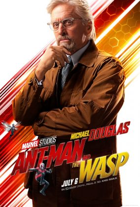 ant man and the wasp poster michael douglas 284x420 - Los Personajes de Ant-Man and the Wasp