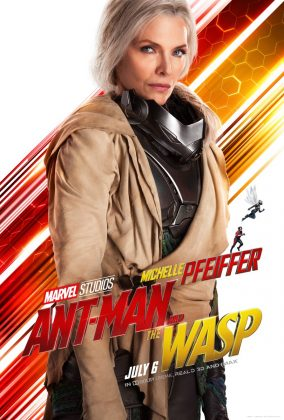 ant man and the wasp poster michelle pfeiffer 284x420 - Los Personajes de Ant-Man and the Wasp