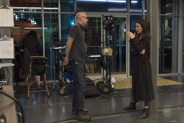 ant man and the wasp set photo peyton reed evangeline lilly 630x420 - Galería de imágenes detrás de cámaras de Ant-Man and the Wasp y nuevo spot para TV
