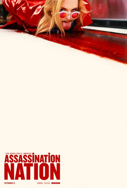 assassination nation poster 436x645 - Trailer rojo de Assassination Nation