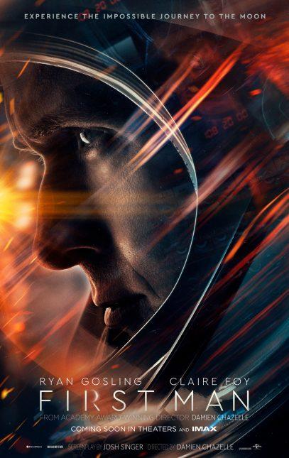 first man poster 407x645 - Trailer Oficial de El Primer Hombre en la Luna
